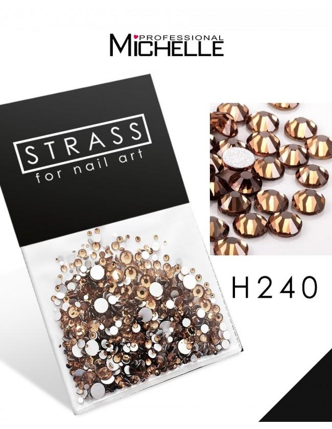 DECORAZIONE CRISTALLI STRASS H240
