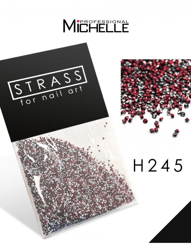 DECORAZIONE CRISTALLI MICROSTRASS H245
