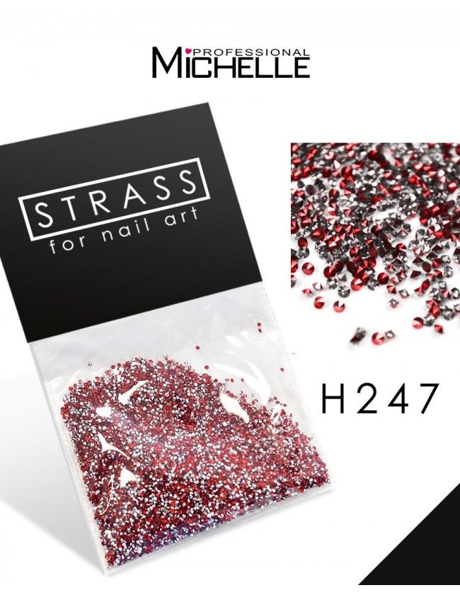 DECORAZIONE CRISTALLI MICROSTRASS H247