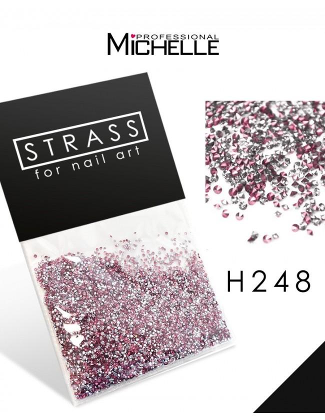 DECORAZIONE CRISTALLI MICROSTRASS H248