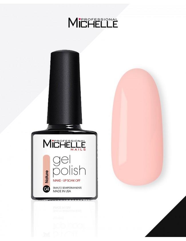 smalto semipermanente colore per unghie MichelleNails Smalto Semipermanente Make-Up Natural 04