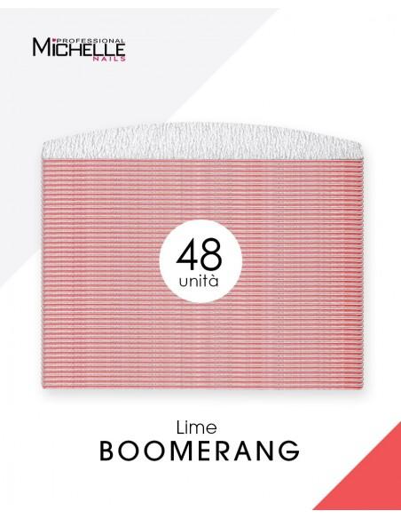 Accessori per unghie 48x LIMA BOOMERANG - DOUBLE FACE Uso professionale nails