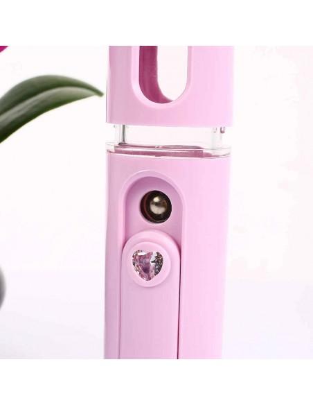 apparecchiatura uso professionale per unghie,  Nebulizzatore facciale Mini portatile BIANCO