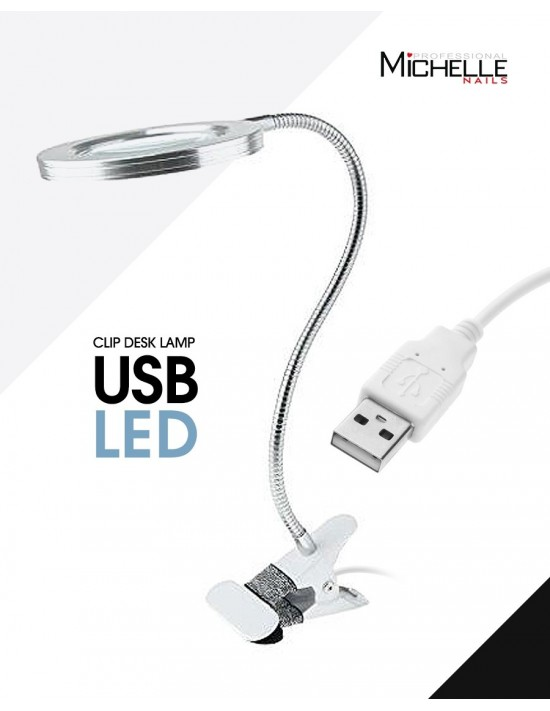 LED USB - CLIP DESK LAMPADA
