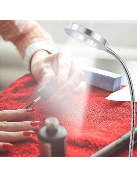 apparecchiatura uso professionale per unghie,  LED USB - CLIP DESK LAMPADA