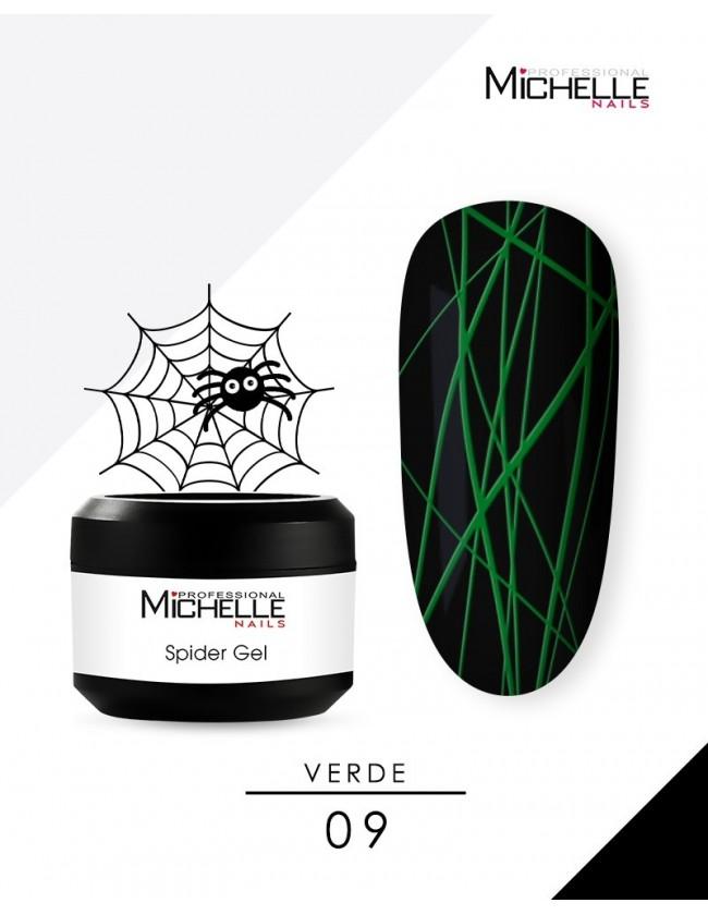 SPIDER GEL - VERDE 09-S