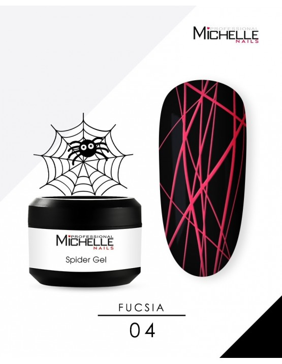 SPIDER GEL - FUCSIA 04-S