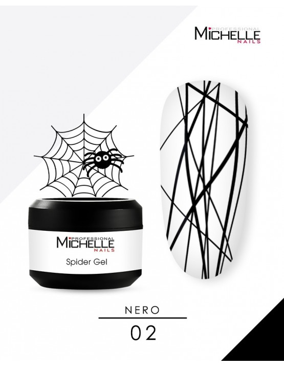 SPIDER GEL - NERO 02-S