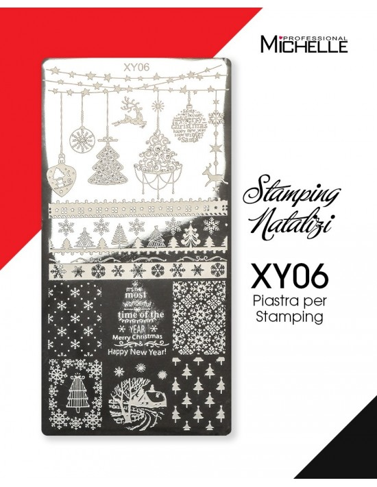 PIASTRA STAMPING NATALE XY06