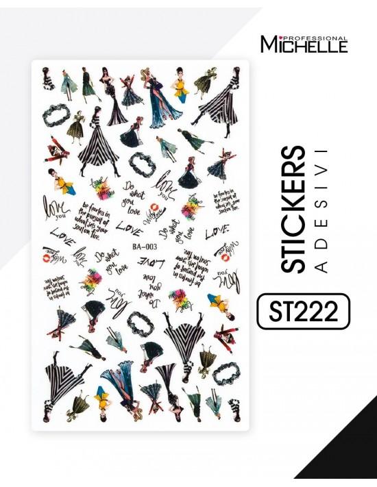 ADESIVI STICKERS - ST222
