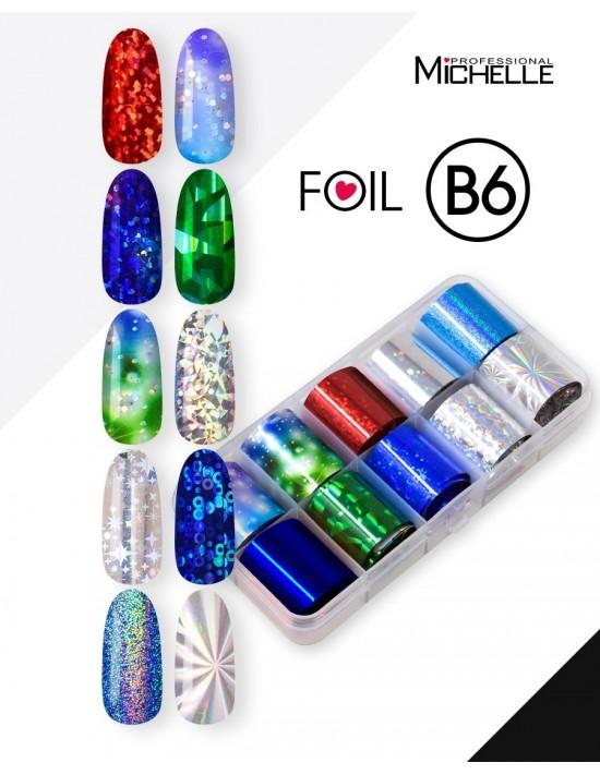 Transfer Foil Holo B6