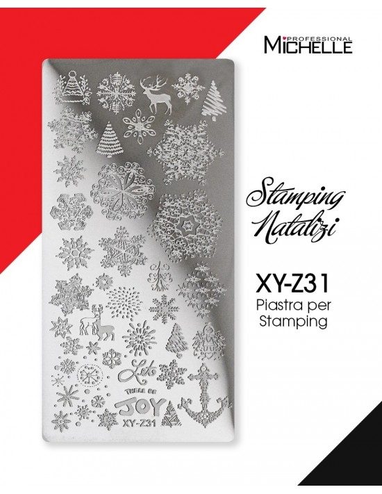 PIASTRA STAMPING NATALE XY-Z31