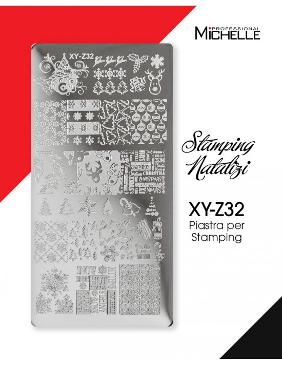 PIASTRA STAMPING NATALE XY-Z32
