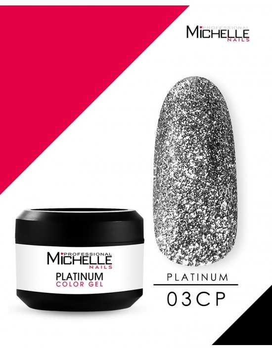 PLATINO - GEL DE COLOR UV -...