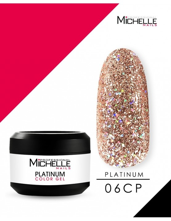 PLATINO - GEL COLOR UV - 8ML de...