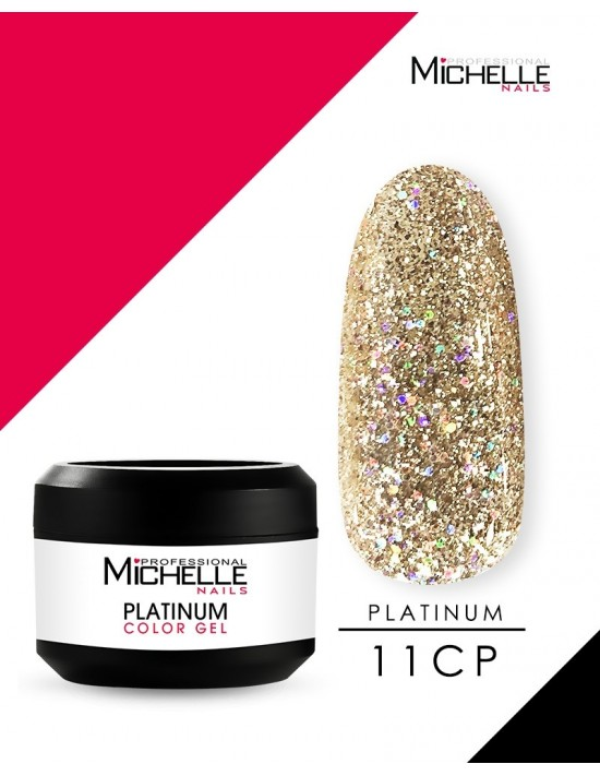 PLATINUM GEL COLOR UV 11CP...