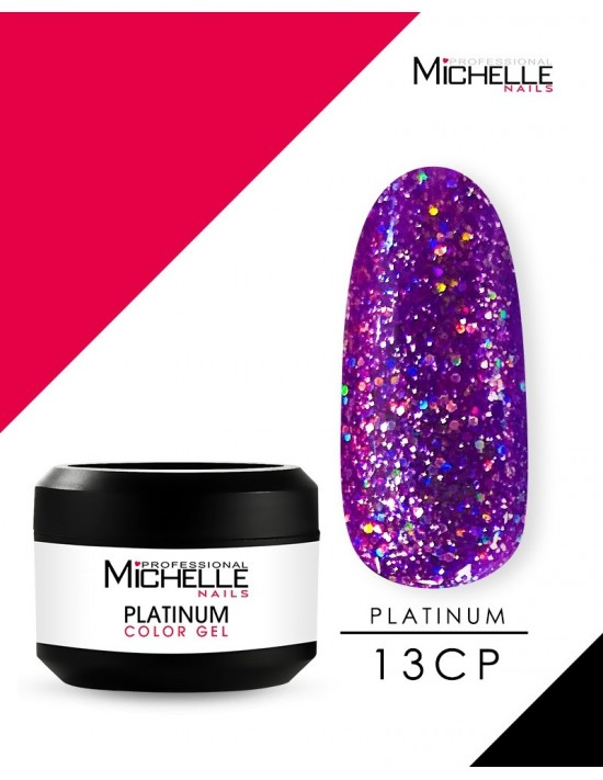 PLATINUM GEL COLOR UV 13CP...