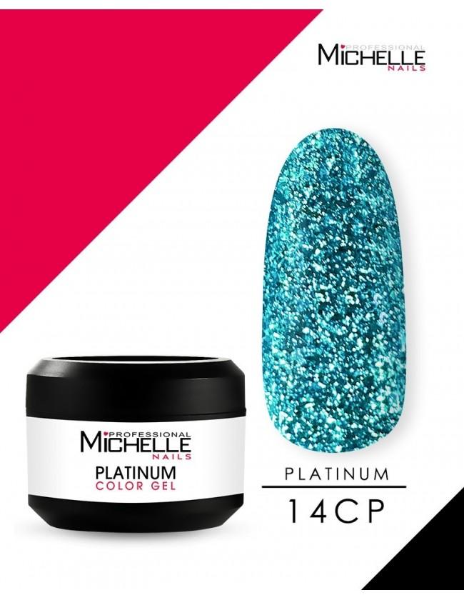 PLATINO - GEL COLOR UV - 8ML