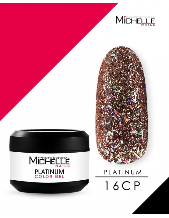 PLATINUM GEL COLOR UV 16CP - 8ML