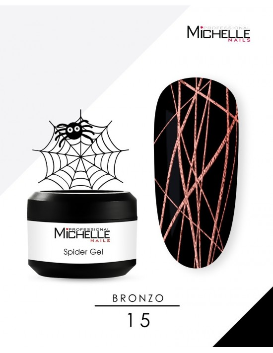 SPIDER GEL - BRONZO 15-S