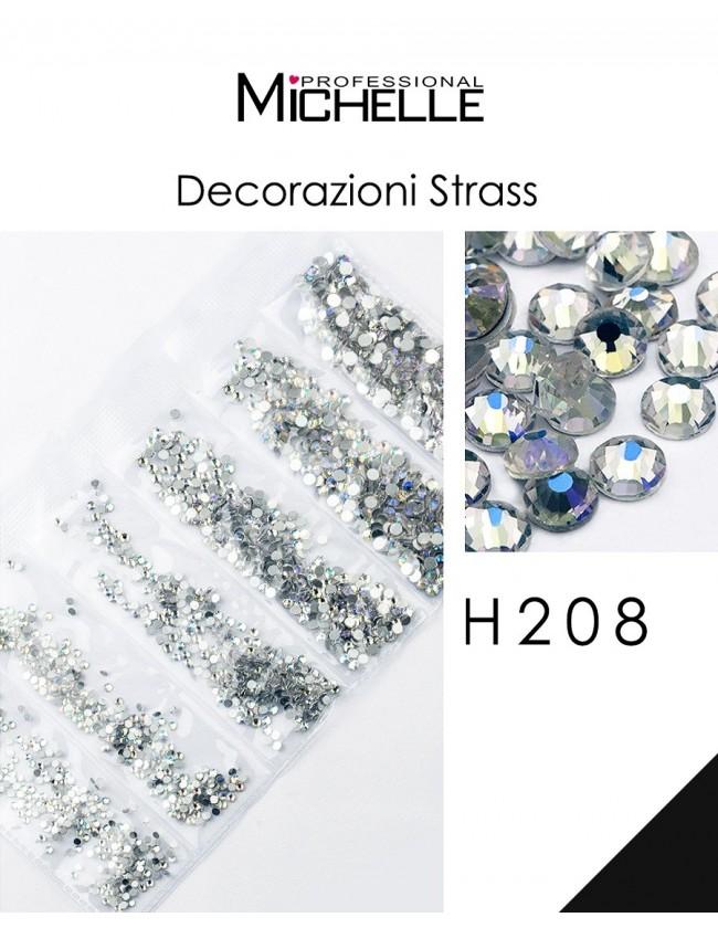 DECORAZIONE CRISTALLI STRASS H208
