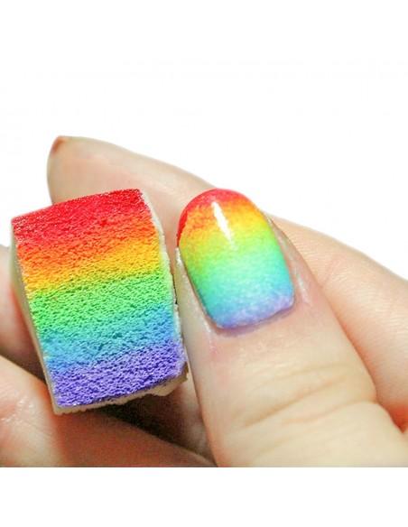 Nail art e decorazioni per unghie: TIMBRO E SPUGNETTE SFUMATURE NAILART NAIL-ART/ Decorazioni