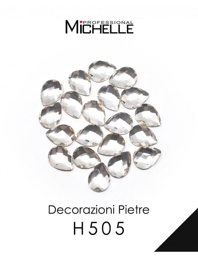 Nail art e decorazioni per unghie: PIETRE GRANDI CRYSTAL GOCCE DECORAZIONE H505 BRILLANTINI E STRASS