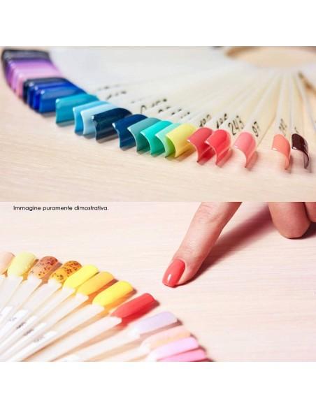 Accessori per unghie Espositore Tips ad Anello Natural Basic - 50pz Uso professionale nails