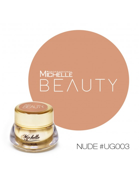 GOLD COLOR UV GEL - NUDE UG003