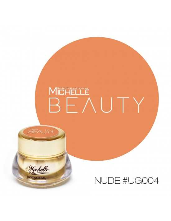 GOLD COLOR UV GEL - NUDE UG004