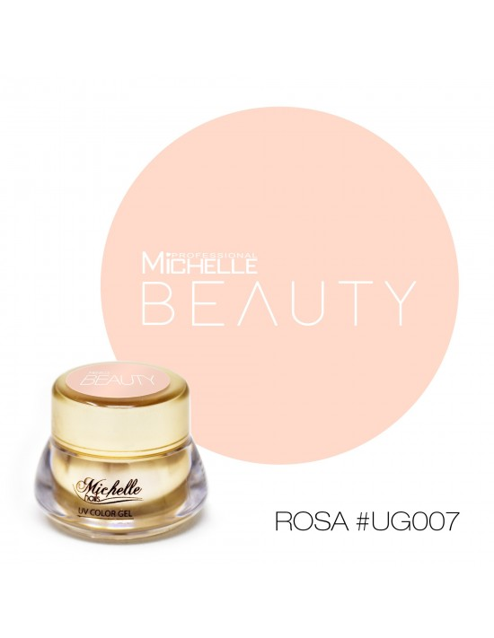 GOLD COLOR UV GEL - ROSA UG007