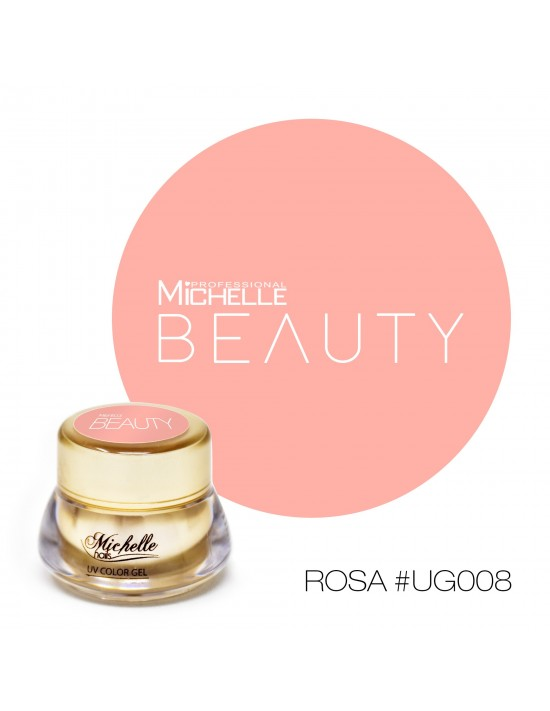 GOLD COLOR UV GEL - ROSA UG008