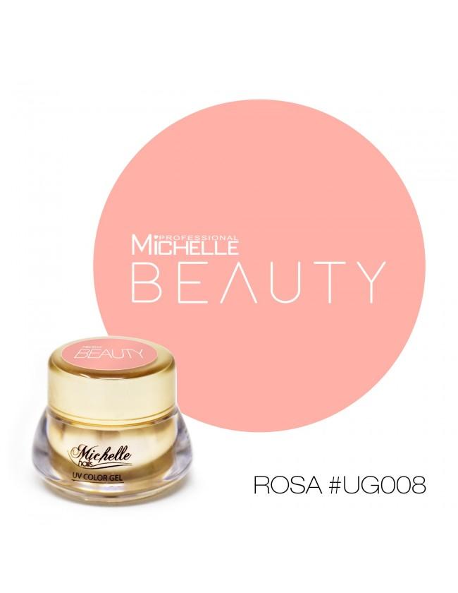 GOLD COLOR UV GEL - ROSA UG008