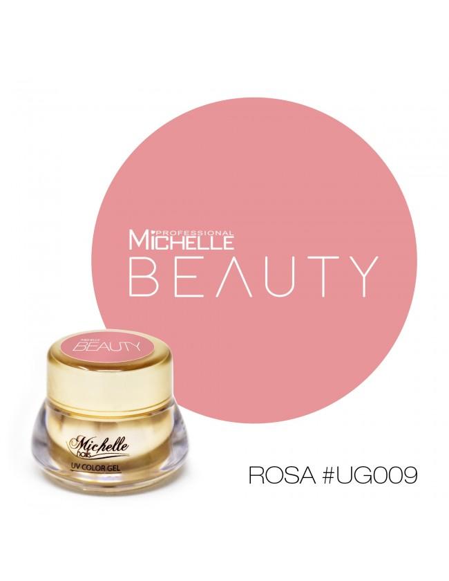 GOLD COLOR UV GEL - ROSA UG009