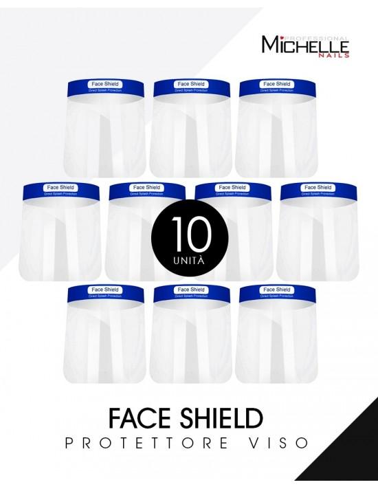 10x FACE SHIELD VISIERA -...