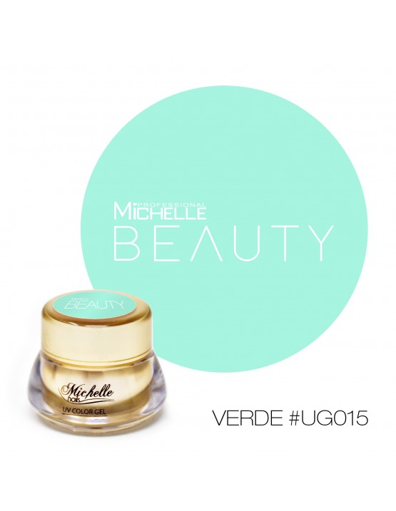GOLD COLOR UV GEL - VERDE UG015