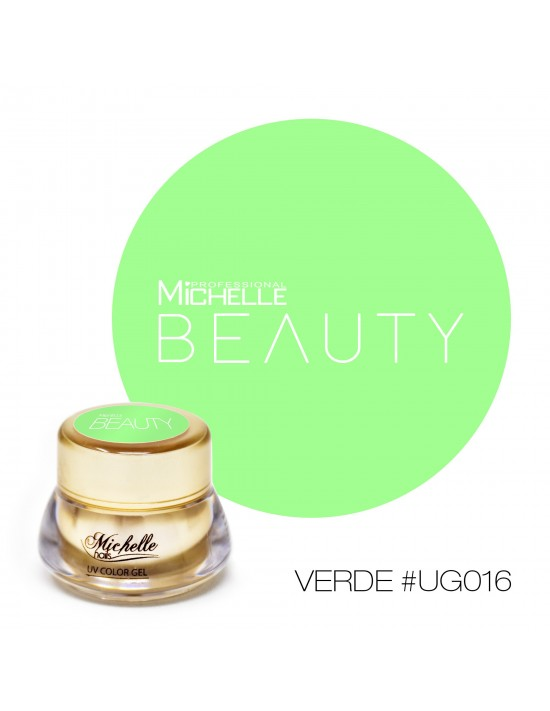 GOLD COLOR UV GEL - VERDE...