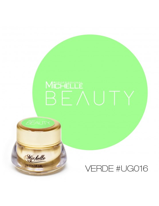 GOLD COLOR UV GEL - VERDE UG016