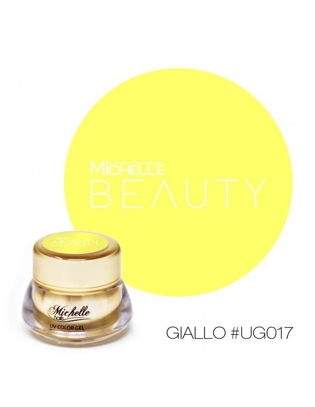 GOLD COLOR UV GEL - GIALLO UG017