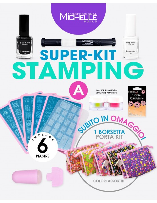 KIT STAMPING A COMPLETO - 6...