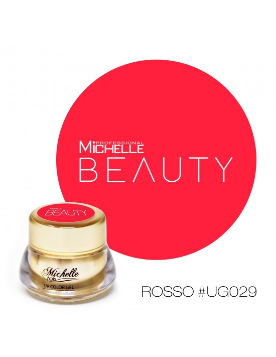 GOLD COLOR UV GEL - ROJO UG029