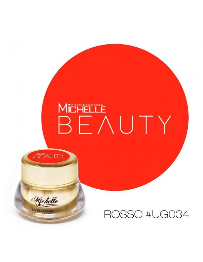 GOLD COLOR UV GEL - ROSSO UG034
