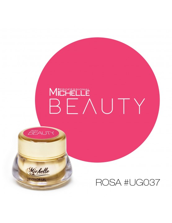 GOLD COLOR UV GEL - ROSA UG037