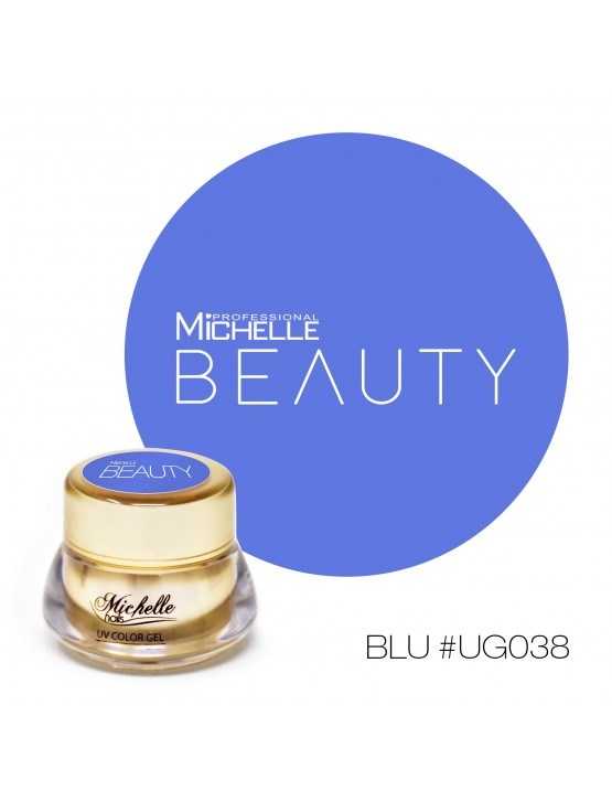 GOLD COLOR UV GEL - AZUL UG038