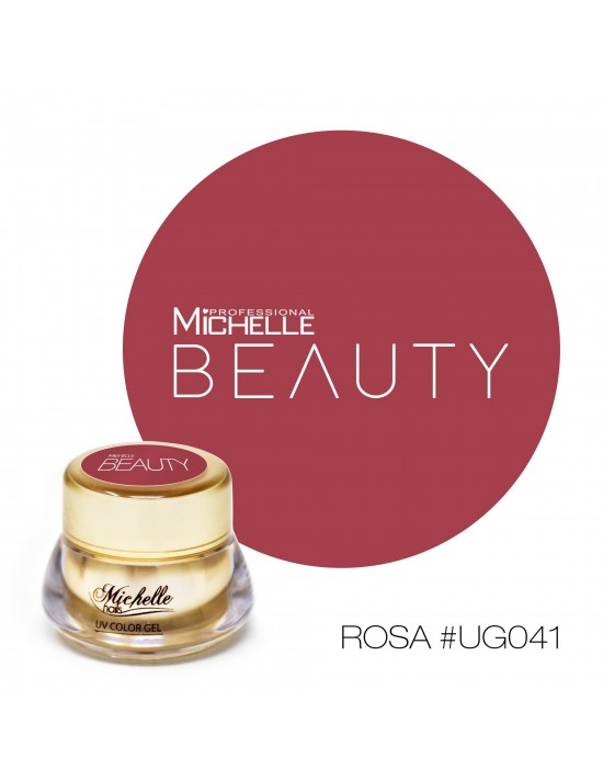 GOLD COLOR UV GEL - ROSA UG041