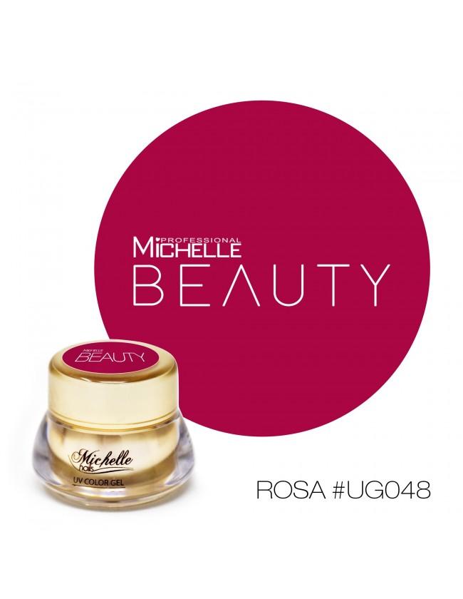 GOLD COLOR UV GEL - ROSA UG048