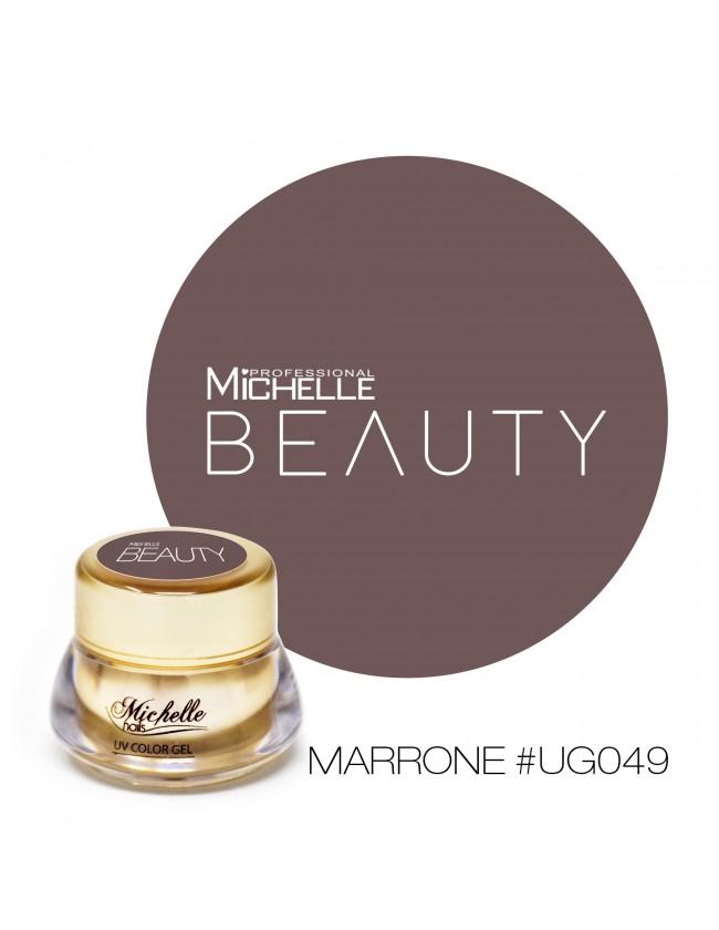 GOLD COLOR UV GEL - MARRONE UG049