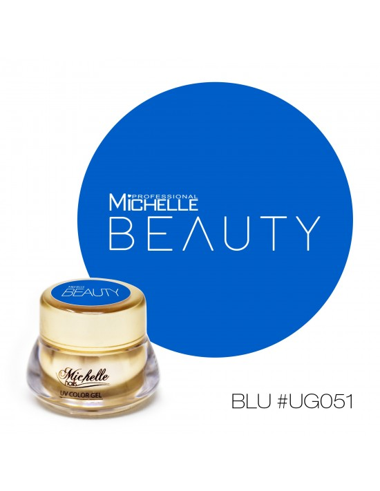 GOLD COLOR UV GEL - AZUL UG051