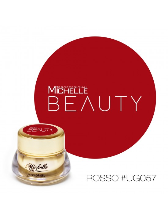 GOLD COLOR UV GEL- ROJO UG057